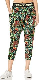 Zumba Soft Lightweight Activewear Capri Harem Fitness Workout Pants for Women