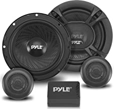 2-Way Car Stereo Speaker System - 360W 6.5 Inch Universal Pro Audio Car Speaker OEM Quick Replacement Component Speaker Ve...