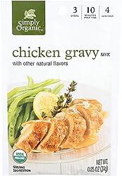Simply Organic, Mix Roasted Chicken Gravy Organic, 0.85 Ounce