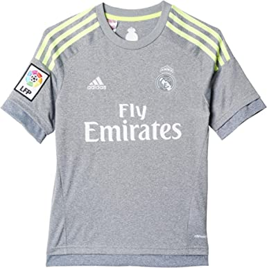 adidas Trikot Real Madrid Away Jersey Camiseta Segunda equipación, Niño