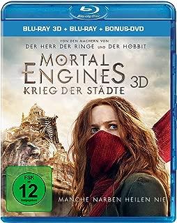 Mortal Engines Krieg der Staedte 3D: Blu-ray 3D + 2D