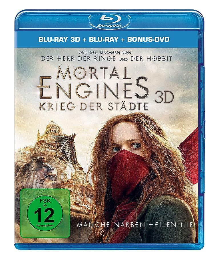 豊富に従者効率的Mortal Engines Krieg der Staedte 3D: Blu-ray 3D + 2D