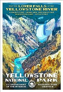 yellowstone wpa poster