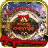 Hidden Objects White Christmas Winter Holiday - Object Time Puzzle Seek & Find Santa Game