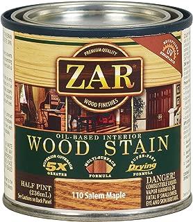 ZAR 11006 Wood Stain, 1/2PT, Salem Maple