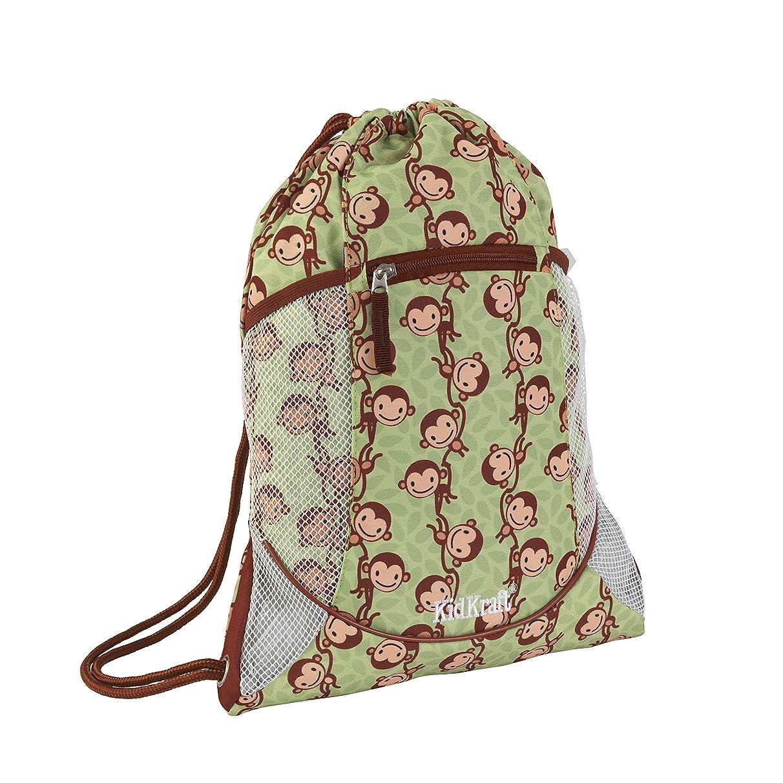 KidKraft Drawstring Backpack, Monkey