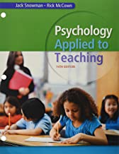 Bundle: Psychology Applied to Teaching, Loose-leaf Version, 14th + MindTap Psychology, 1 term (6 months) Printed Access Card