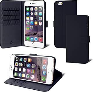 d185aa29729 Funda para iPhone Muvit – Funda folio negro para iPhone 6 +/6S +