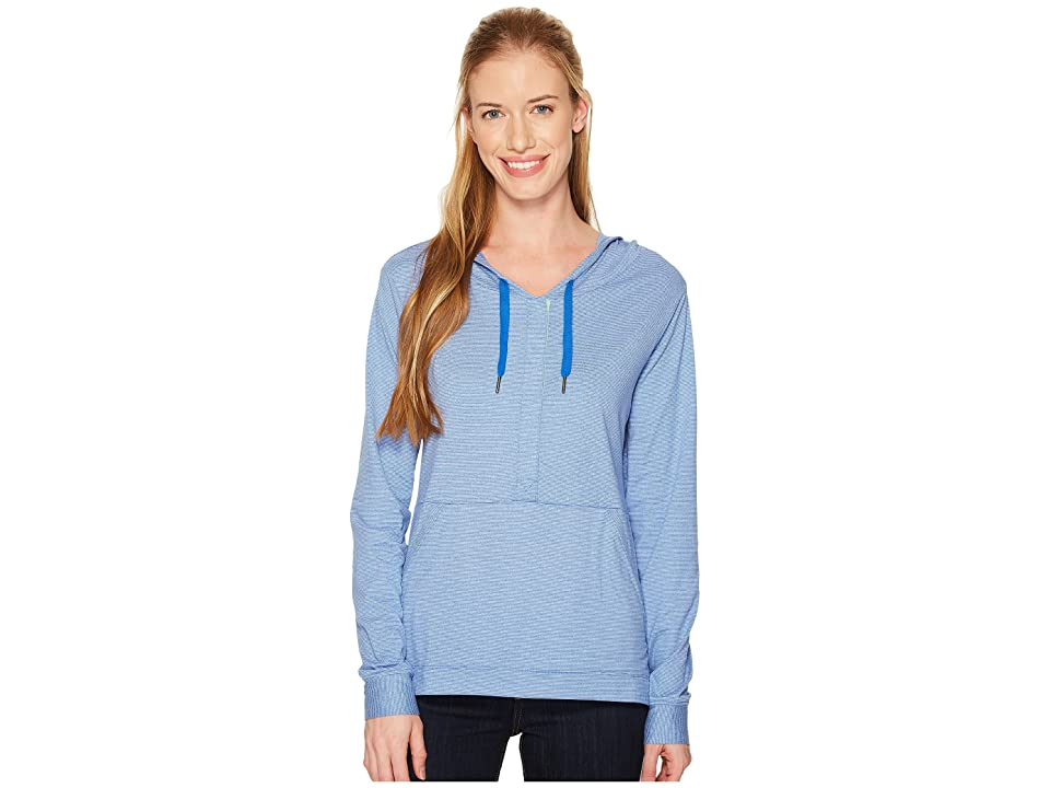 Columbia Reel Relaxed Hoodie (Blue Macaw/Winter Green) Women