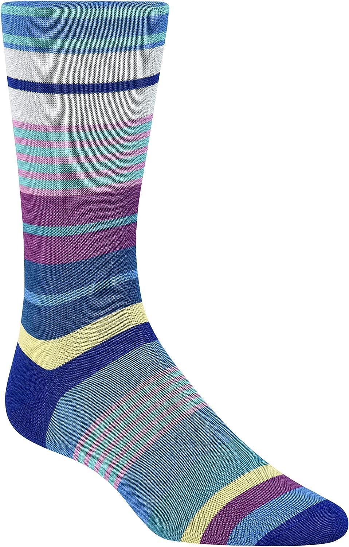 Bugatchi Men's Fashion Sock Cobalt