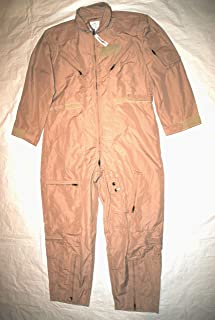 Genuine Us Air Force Nomex Fire Resistant Flight Suit Cwu-27/p - Size 48L
