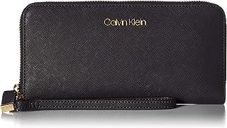 Calvin Klein Key Item Saffiano Large Continental Zip Around Wallet