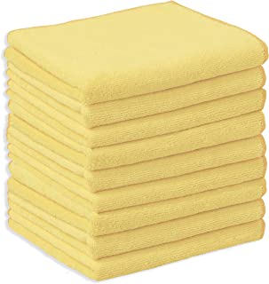 Simple Houseware 9 Pack - Microfiber Thick Cleaning Towel Cloth, 16 x 24 Inches