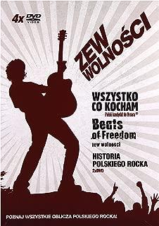 Zew wolnoĹ ci: Historia polskiego rocka / Beats of freedom - Zew wolnoĹ ci / Wszystko co kocham [Box] [5DVD] (No English version)