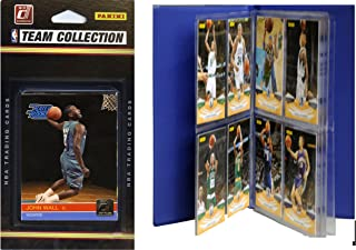 NBA Washington Wizards Licensed 2010-11 Donruss Team Set Plus Storage Album