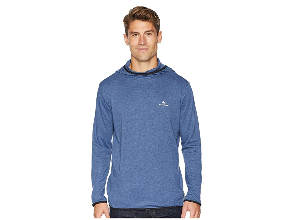 Quiksilver Waterman Sea Explorer Hoodie (Orion Blue Heather) Men