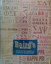 Baird's Manual of American College Fraternities