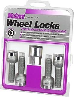 McGard 28018 Chrome Bolt Style Radius Seat Locks (M14 x 1.5 Thread Size) - Set of 4