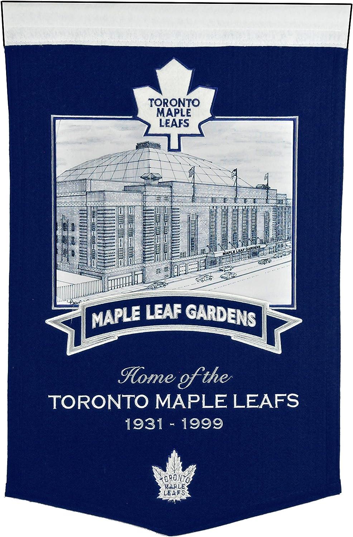Winning Streak NHL Toronto Maple Stadium Banner Max 46% OFF Lowest price challenge Leafs Gardens