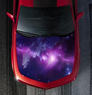 Sign Factory H122 Galaxy - Hood WRAP - Wraps Decal Sticker Tint Vinyl Image Graphic Carbon Print Laminated Printed Fiber 2