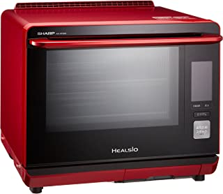 シャープ ウォーターオーブン ヘルシオ(HEALSIO) 30L 2段調理 レッド AX-XP200-R
