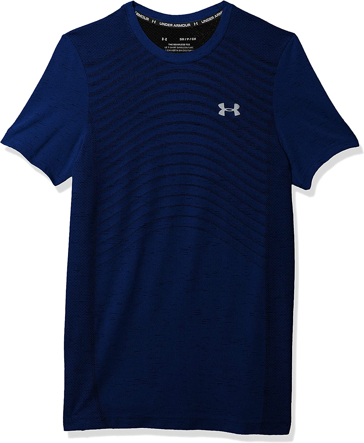 Under Weekly update Armour Men's Seamless Short Los Angeles Mall T-Shirt Novelty Sleeve