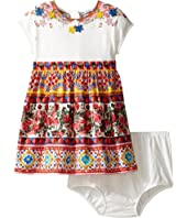 Dolce & Gabbana Kids - Mambo Short Sleeve Dress (Infant)