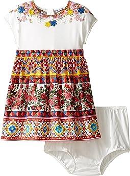 Dolce & Gabbana Kids - Mambo Short Sleeve Dress (Infant)