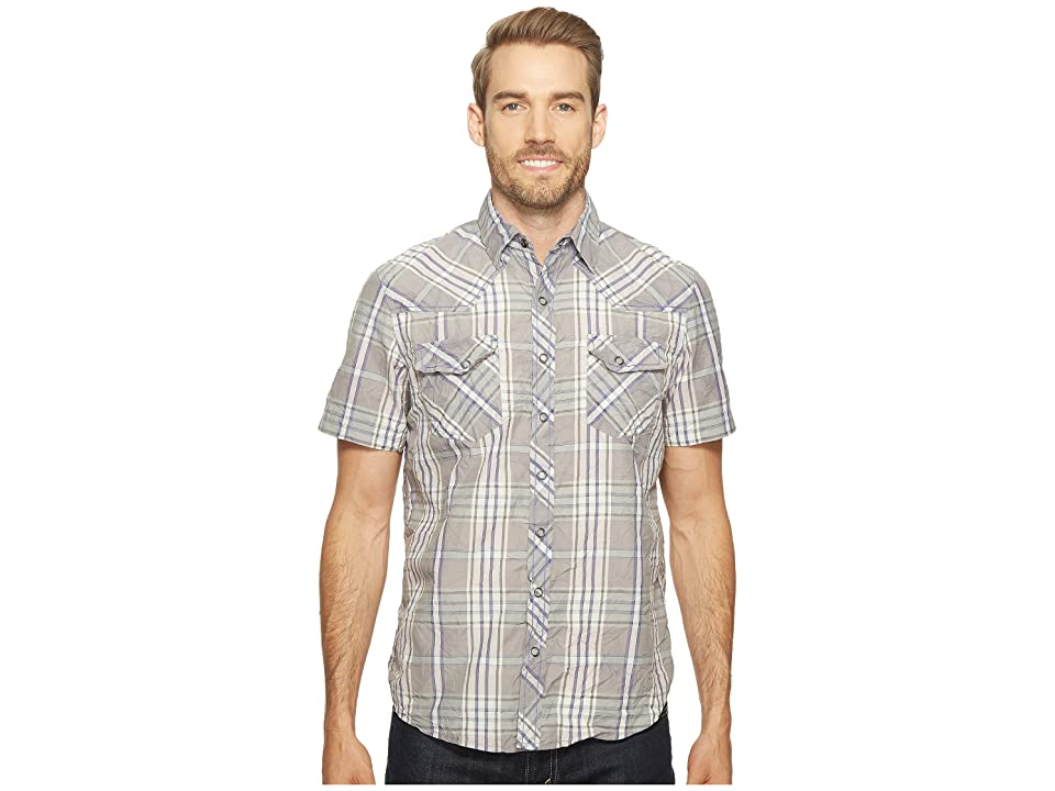 Ecoths Donovan Short Sleeve Shirt (Griffin Grey) Men