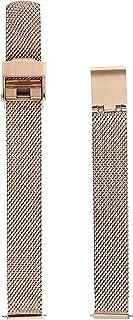 Skagen Women's 12mm Stainless Steel Mesh Watch Strap, Color: Rose Gold (Model: SKB2031)