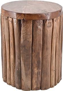 Marrone 35 x 35 x 45 cm 163052 Sgabello Moycor