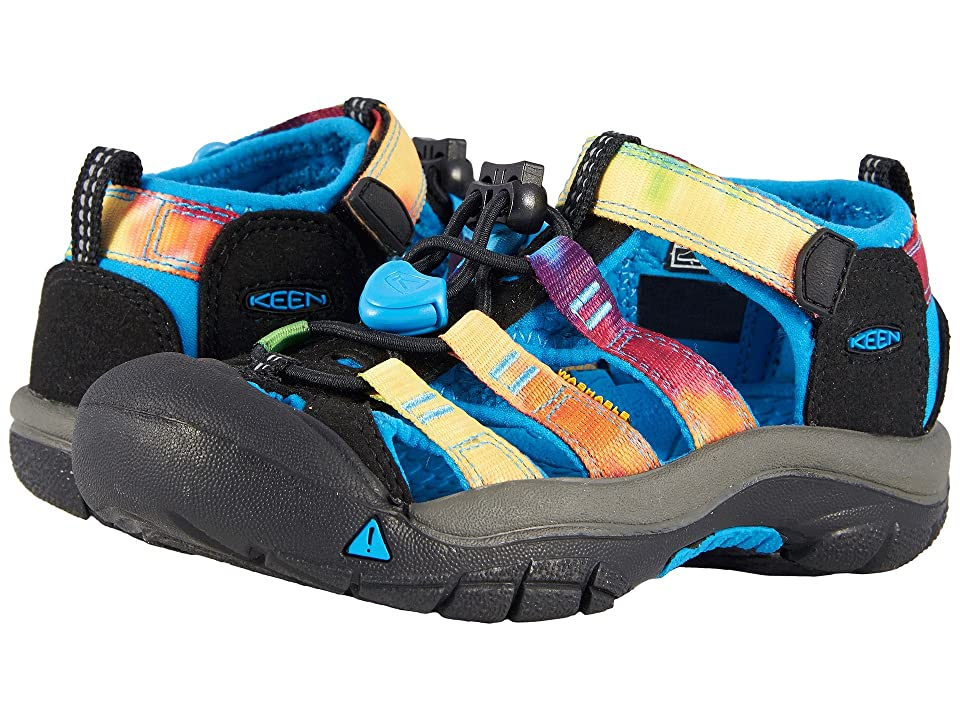 Keen Kids Newport H2 (Toddler/Little Kid) (Rainbow Tie-Dye) Kids Shoes