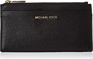 Michael Kors Womens Card Case, Black - 34F9GF6D7L One Size