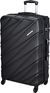 United Colors of Benetton Roadster Hardcase Luggage ABS 77 cms Black Hardsided Check-in Luggage (0IP6HAB28B02I)
