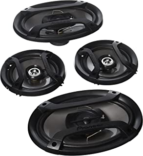 """Pioneer TS-165P + TS-695P Two Pairs 200W 6.5"""" + 230W 6x9 Car Audio 4 Ohm Component Speakers photo"""