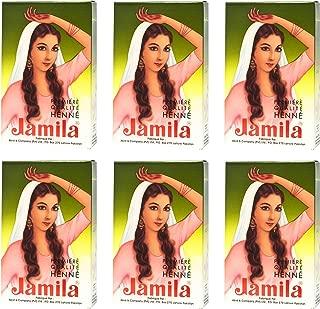 Jamila Henna Powder, 6 Individual Packs