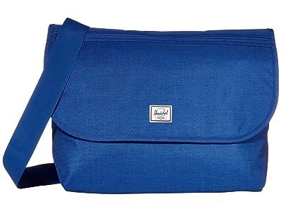 Herschel Supply Co. Grade (Monaco Blue Crosshatch) Messenger Bags