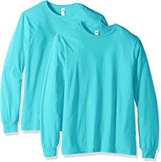 Fruit of the Loom Men's Long Sleeve T-Shirt (2 Pack)