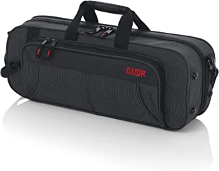 Gator Cases Lightweight Polyfoam Trumpet Case with Removable Strap and Rubber Interlocking Carry Handle; (GL-TRUMPET-A)