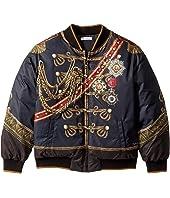 Dolce & Gabbana Kids - Heraldic Bomber Jacket (Big Kids)