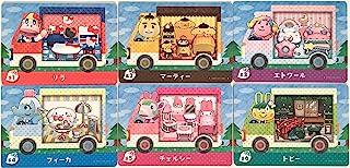 とびだせ どうぶつの森 amiibo+【限定】 amiiboカード サンリオキャラクターズコラボ 全6種セット(ランダムシール3種付)