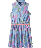 Tommy Hilfiger Kids Printed Palm Shirtdress (Big Kids)