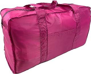 Foldable Travel Duffel Bag (Pink)
