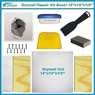"Stella Drywall Repair Kit Basic (12""x12""x1/2"")"