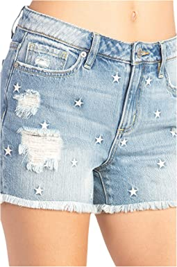 Star Mid-Rise Relaxed Shorts