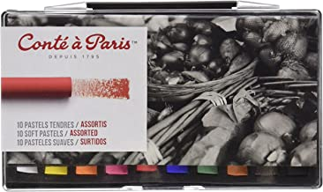 Conté à Paris Soft Pastels with 10 Assorted Colors