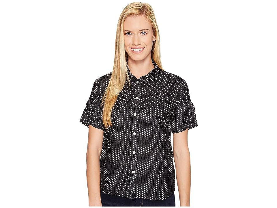 United By Blue Short Sleeve Greylock Dot Shirt (Black) Women