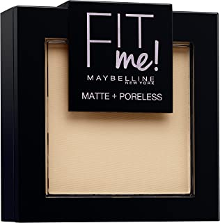 Maybelline Fit Me Matte And Poreless Powder, Nr. 120 Classic Ivory, 9g