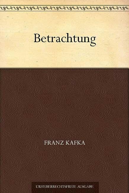 Betrachtung (German Edition)