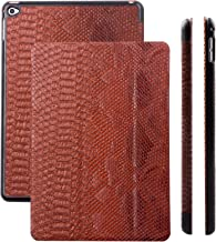 iCues | Compatible with Apple iPad Mini 4 Case | Buffalo Brown | Ancho Cover with Stand | Other Leather - and Colour Variations Available | Protective Flip Wallet with Gift Box 10535